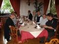 Slovenia Bled 2008 ryhmä illallisella